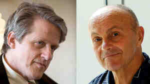 Robert Shiller and Eugene Fama shared this year's Nobel Memorial Prize.