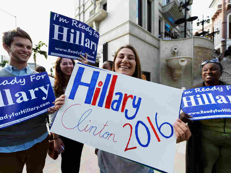 "Supporters may be ""Ready for Hillary,"" but NPR political reporter Don Gonyea isn't."