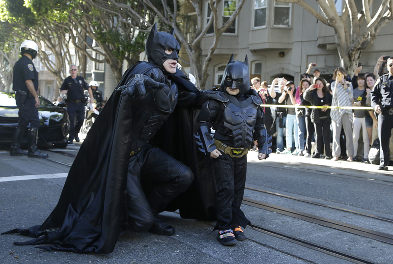 Holy Empathy! Batkid Lives Superhero Dream In San Francisco