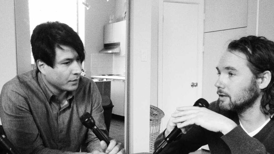 Jeffrey Remedios & Kevin Drew On World Cafe