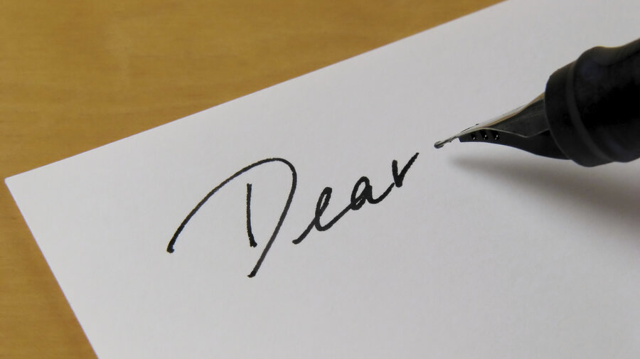 The Art Of Letter-Writing Isn't Lost On These Scribblers : NPR