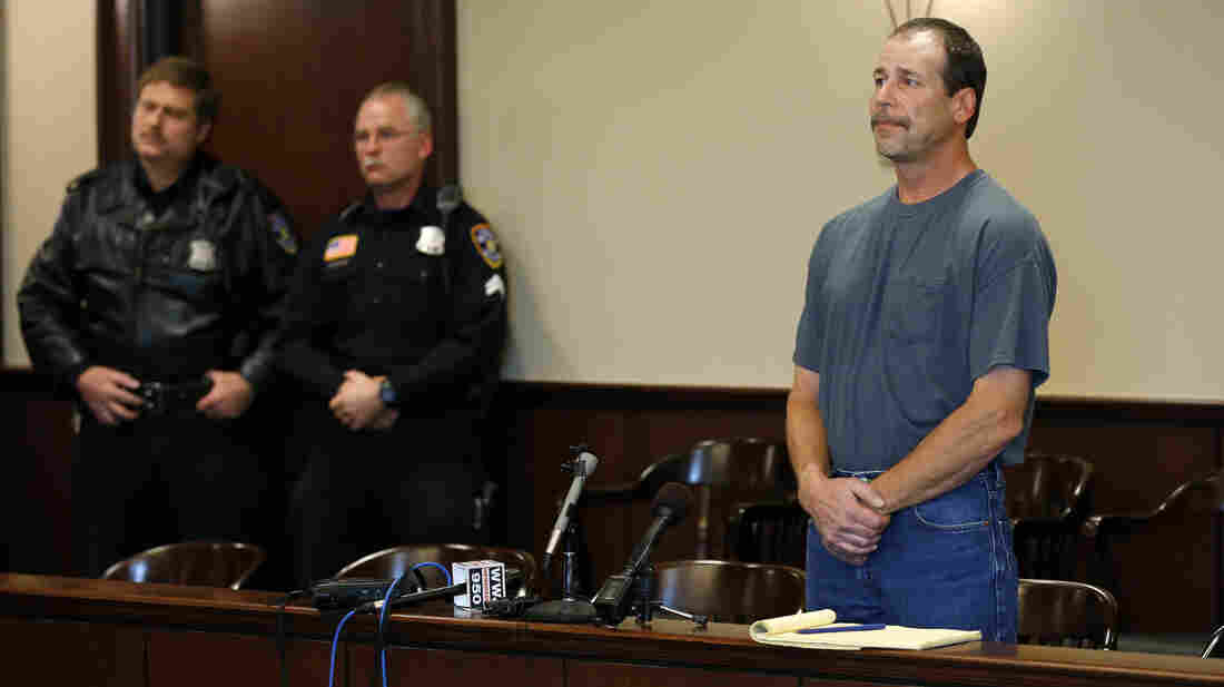 Theodore P. Wafer, 54, charged with second-degree murder in the shooting death of Renisha McBride, appears at his arraignment in Dearborn Heights, Mich., on Friday.