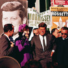 John F. Kennedy and his wife, Jacqueline Kennedy, campaign in New York in 1960.