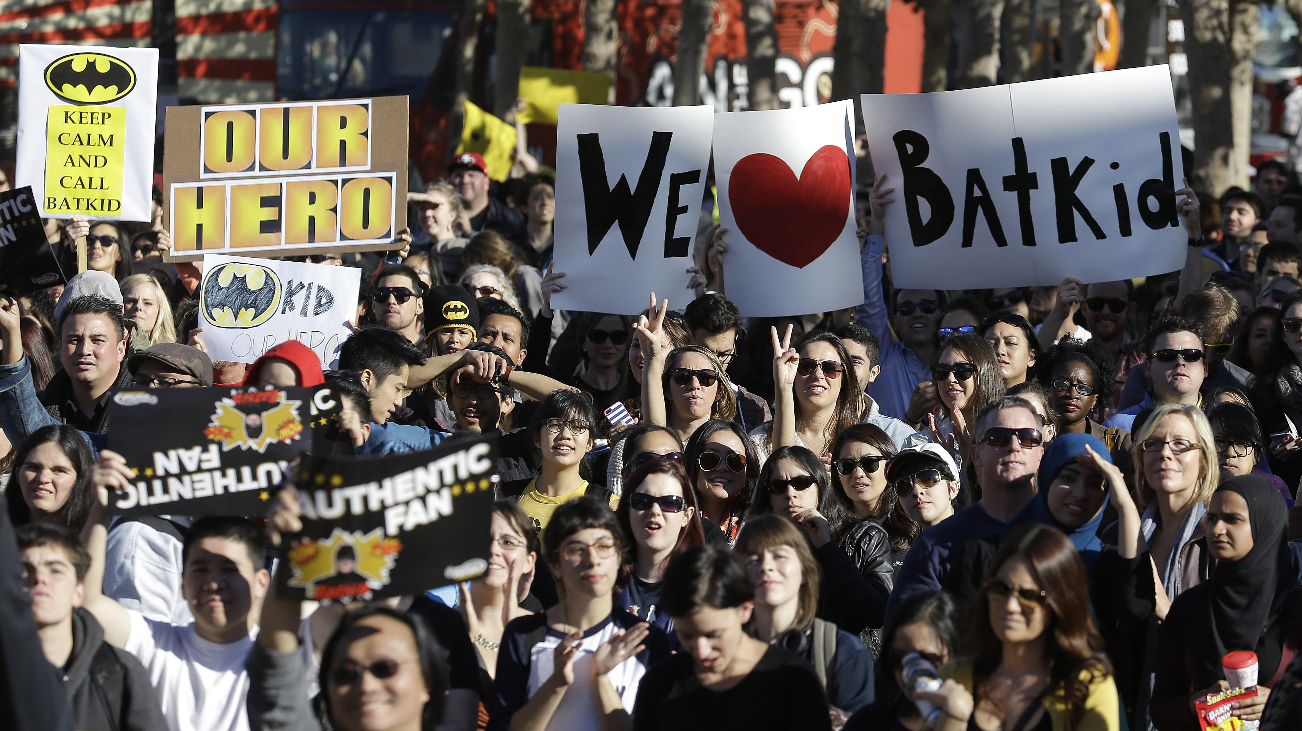 Holy Heartwarmer! No One Can Seem To Get Enough Of Batkid