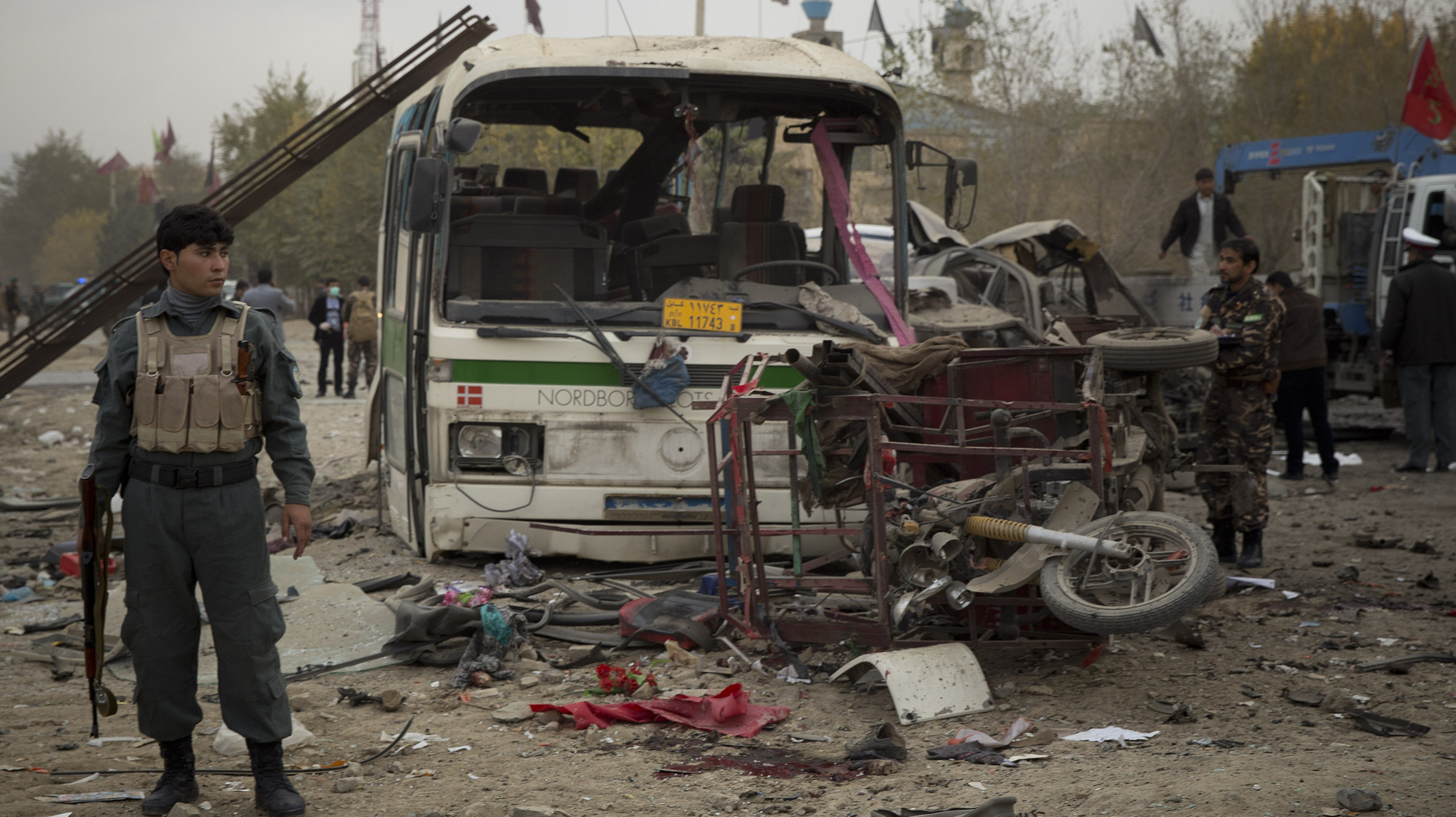 Suicide Bombing Causes Multiple Deaths In Afghanistan