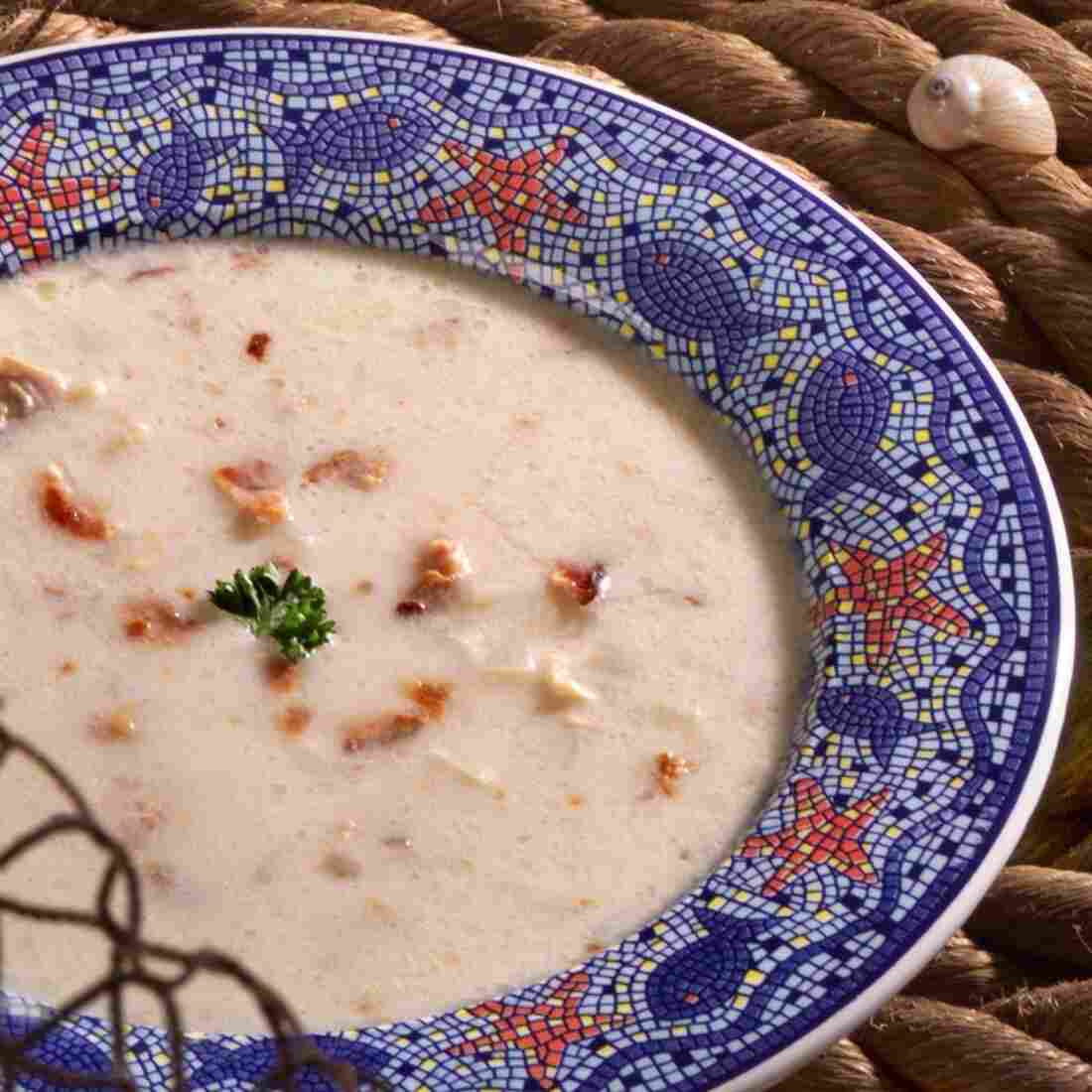 That Clam In Your Chowder Might Be Hundreds Of Years Old