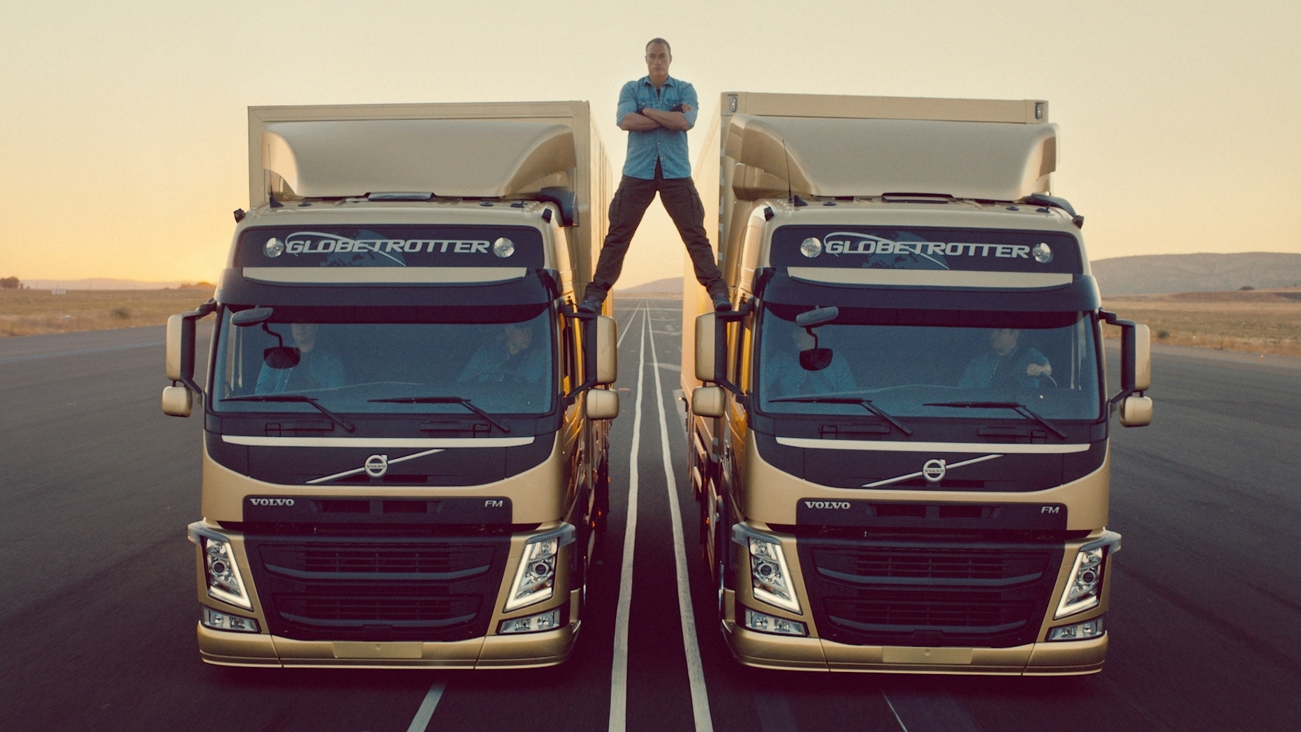 How'd They Do That Jeanclaude Van Damme's 'epic Split' The Two. How'd They Do That Jeanclaude Van Damme's 'epic Split' The Twoway Npr. Volvo. Volvo Truck Speaker Harness At Scoala.co