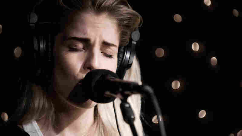 London Grammar performs live at KEXP in Seattle.