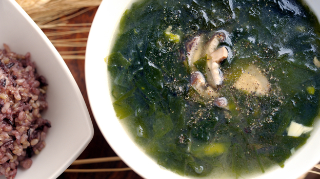 According to legend, Japanese chemist Kikunae Ikeda discovered the food additive monosodium glutamate in 1908 after contemplating the meaty flavor of seaweed soup. (iStockphoto.com)