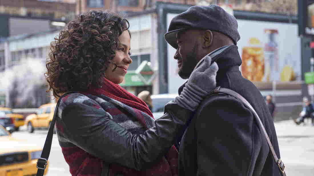 Sanaa Lathan and Taye Diggs star in The Best Man Holiday.