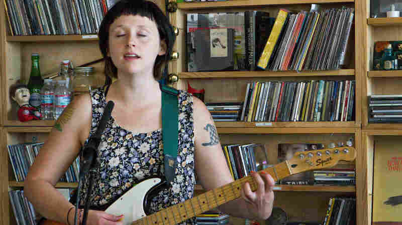 Waxahatchee performs a Tiny Desk Concert in September 2013.