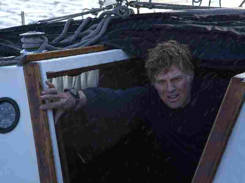 In his latest film, Robert Redford plays a man who is stranded at sea and must survive completely on his own.