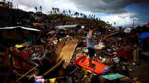 The wreckage in Tacloban, Philippines, on Nov. 16 was overwhelming, after Typhoon Haiyan plowed through.