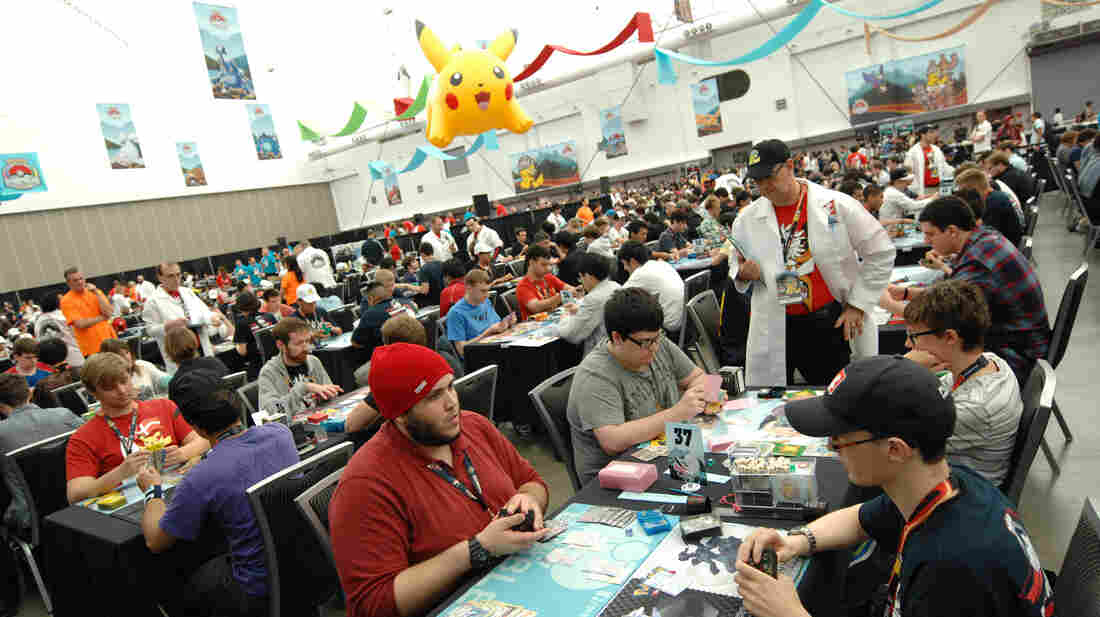 Participants compete in the 2013 Pokemon World Championships in Vancouver, Canada, on Aug. 10. The Pokemon franchise has become a billion-dollar franchise since it debuted on American shores 15 years ago.