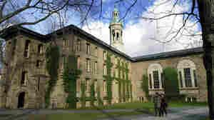 Princeton University's Nassau Hall. The New Jersey university has seen seven cases of bacterial meningitis since March.