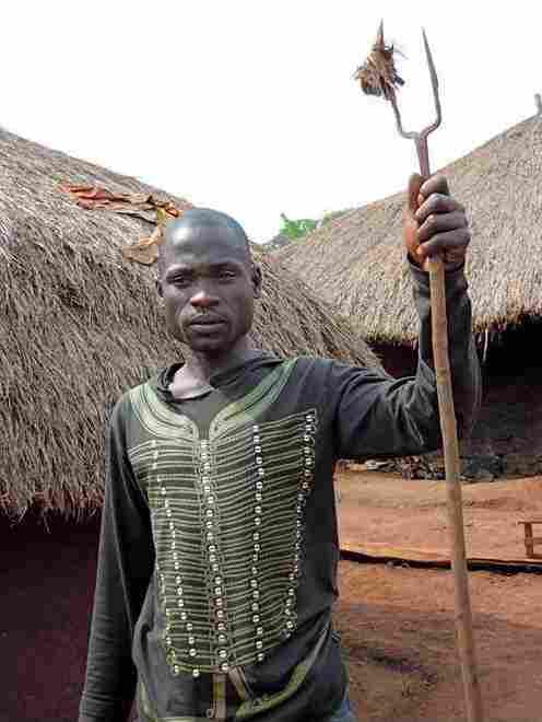 Yoset, a spiritual healer near Arua, Uganda, works with the Centers for Disease Control and Prevention to detect the plague in his village.