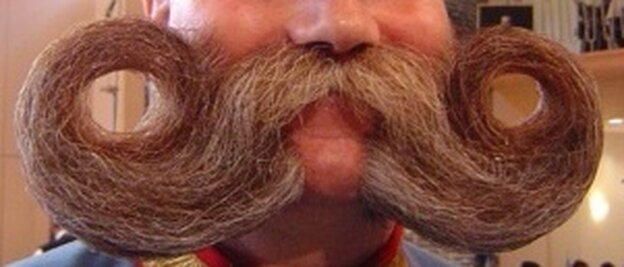 A finalist at the 2005 World Beard and Moustache Championships in Berlin.