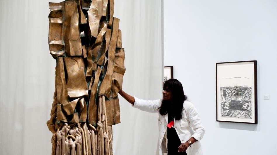 Sculptor and writer Barbara Chase-Riboud is troubled by race-based groupings. She currently has an exhibition of work inspired by Malcolm X at the Philadelphia Museum of Art.