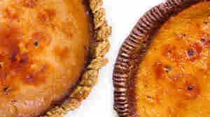 Three food magazines featured a pumpkin pie finished with a bruleed top for Thanksgiving this year, according to The Bitten Word.