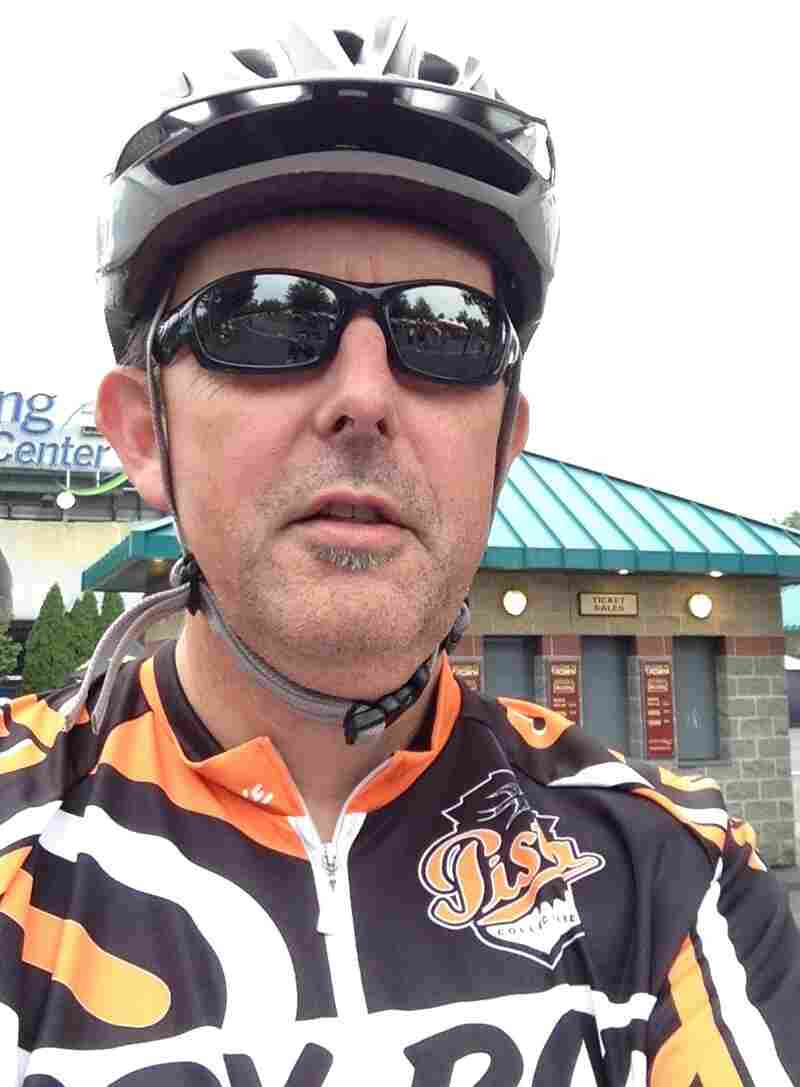 "If old bloggers are doing it when they bike, then you know the word ""selfie"" has gone mainstream."