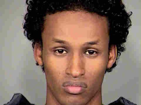 A 2010 mug shot of Mohamed Osman Mohamud, from the Multnomah County Sheriff's Office.