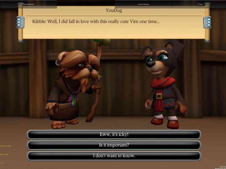 A screenshot of the iPad game If, which aims to teach kids how to navigate interpersonal challenges and failures.
