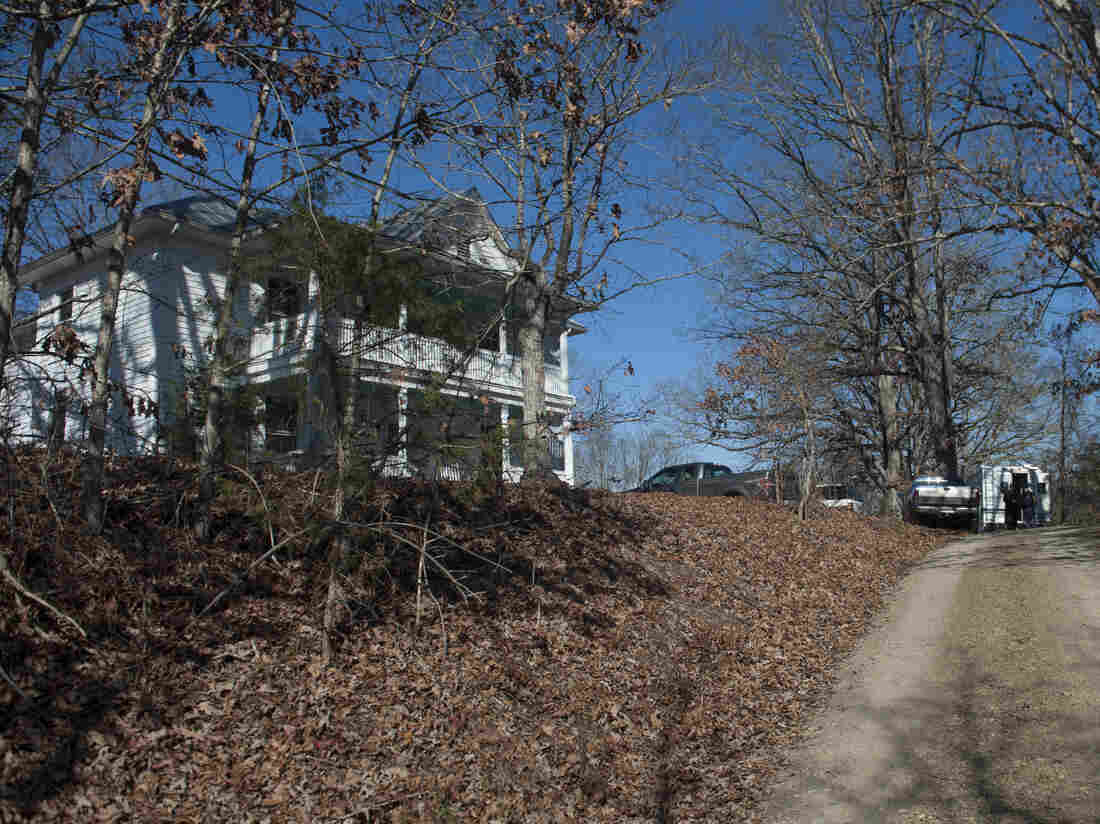 The Millboro, Va., home of state Sen. Creigh Deeds. He was attacked there Tuesday — authorities believe by his son Gus. The younger Deeds then may have fatally shot himself, investigators say.