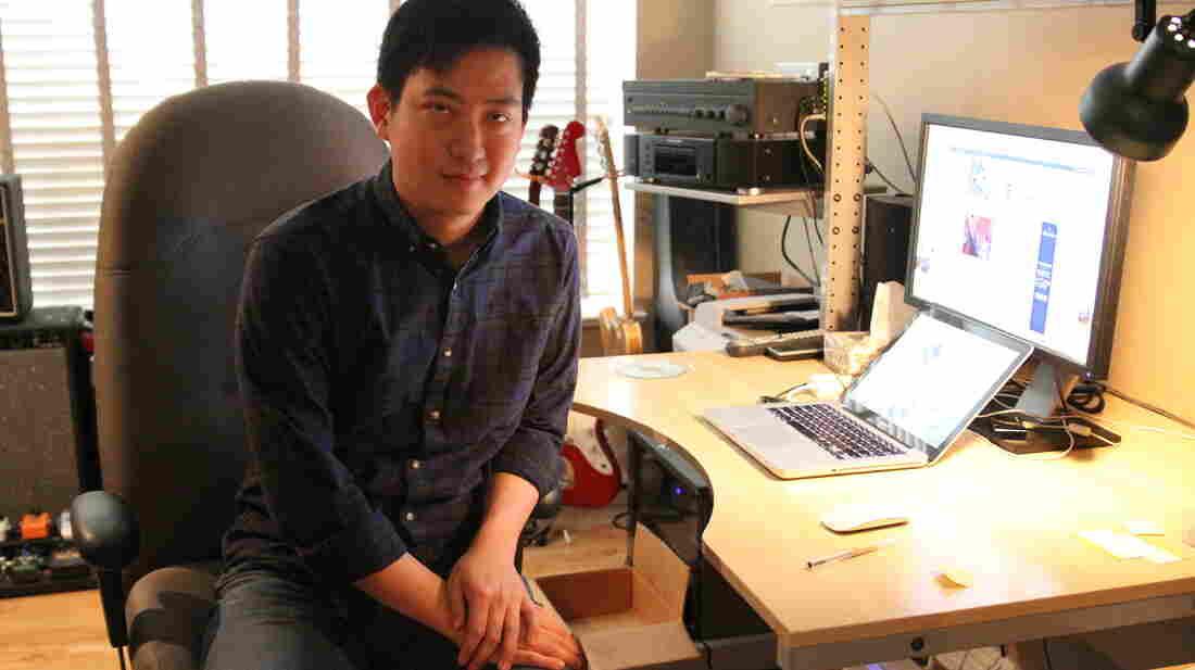 Frank Yang, founder of the Canadian music blog Chromewaves.
