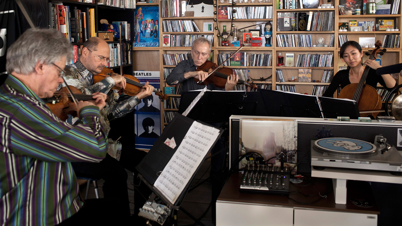 Kronos Quartet Tiny Desk Concert Npr