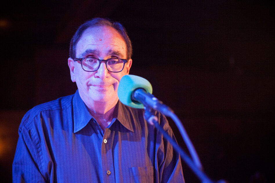 R.L. Stine: This man wants to terrify your children. (Lam Thuy Vo/NPR)