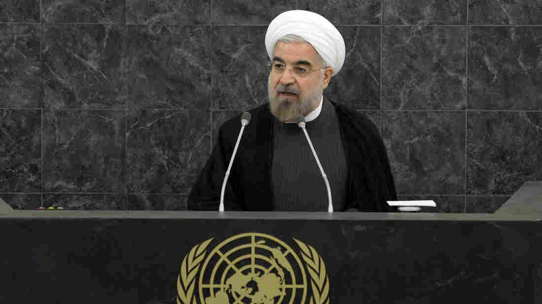 Iranian President Hassan Rouhani addresses a high-level meeting on nuclear disarmament during the 68th U.N. General Assembly in September.