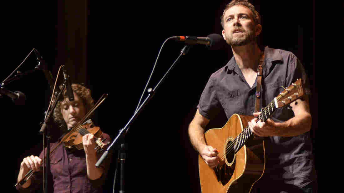 Rayna Gellert and Scott Miller perform live on Mountain Stage.