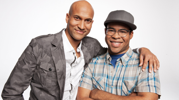 Keegan-Michael Key (left) and Jordan Peele both started their careers at Second City, Peele in Chicago and Key in Detroit. (Comedy Central)