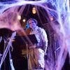 Puzzle Guru Will Hines got into the spooky spirit in costume as a safari dude.