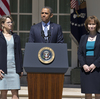 On June 4, President Obama announces the nominations (from left) of Robert Wilkins, Cornelia Pillard and Patricia Ann Millet to the U.S. Court of Appeals for the District of Columbia Circuit. In the past three weeks, Senate Republicans have blocked confirmation votes on all three.