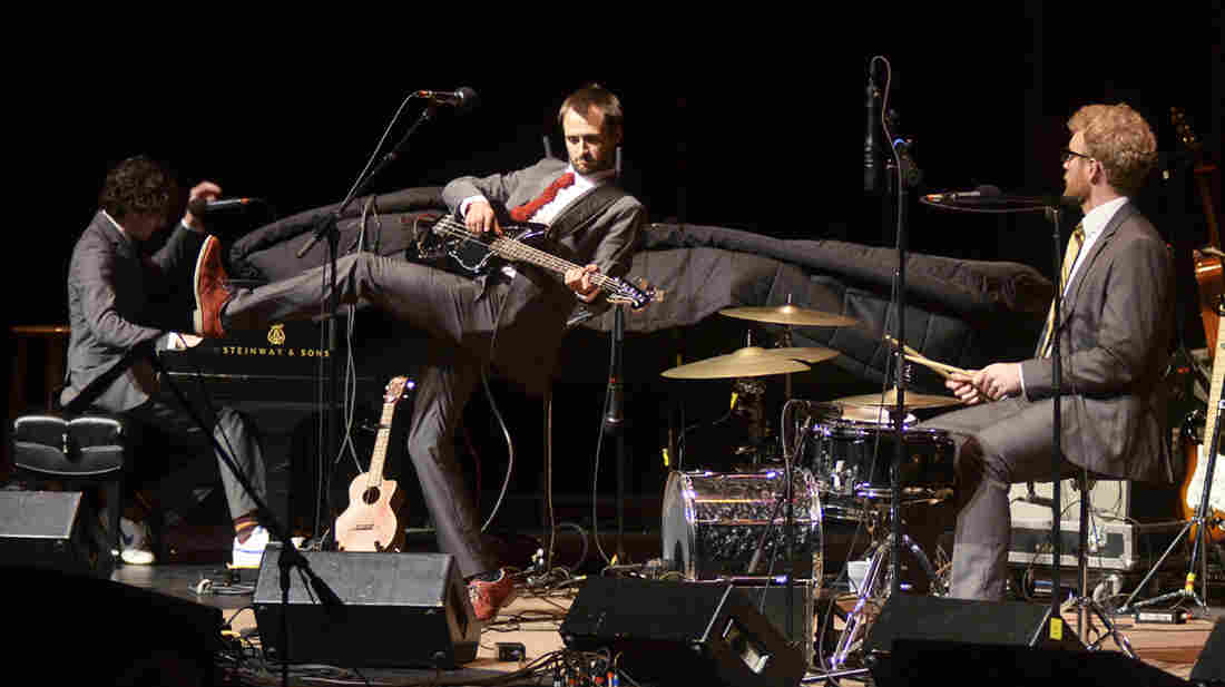 Bombadil performs live on Mountain Stage.