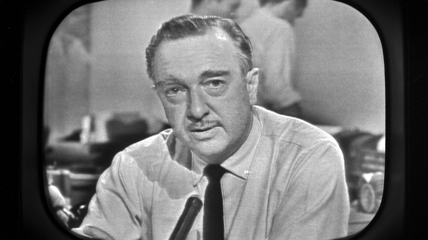 Walter Cronkite On The Assassination Of John F. Kennedy : NPR