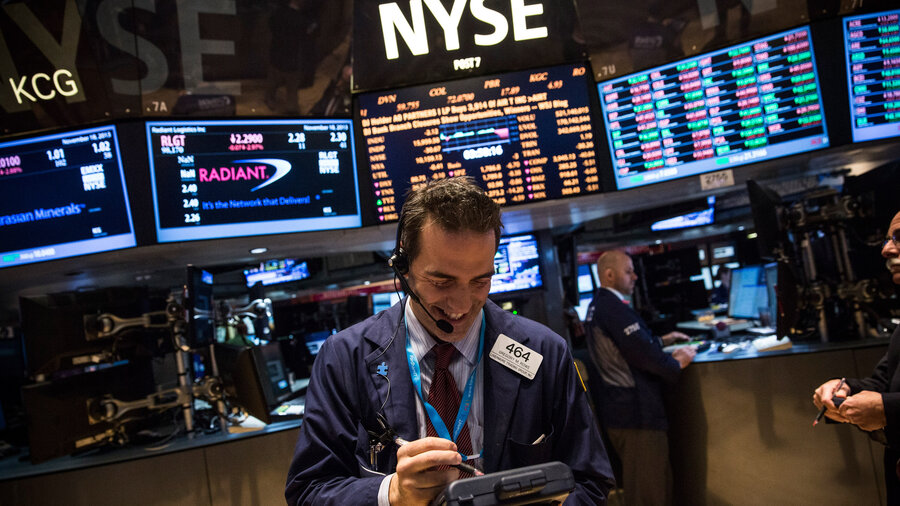 Dow Jones Index Closes Above  For First Time