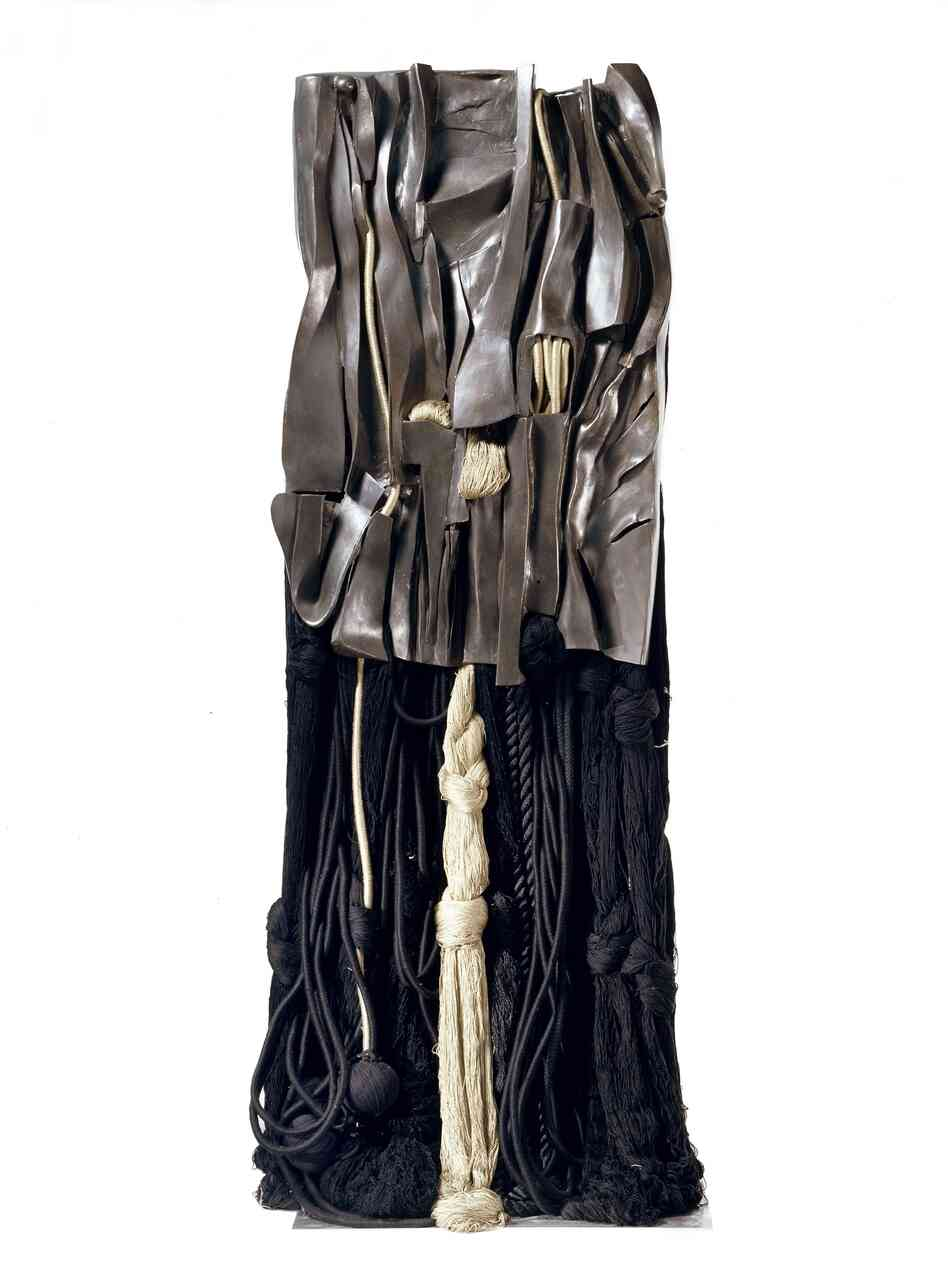 Malcolm X #10, by Barbara Chase-Riboud