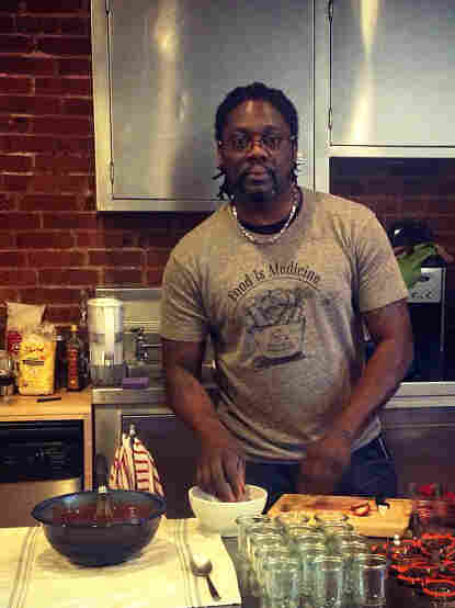 Chef and farmer Matthew Raiford.