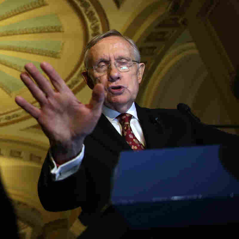 Senate Majority Leader Senator Harry Reid, D-Nev.