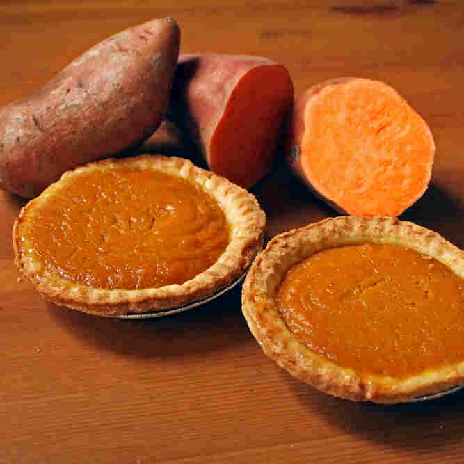 "The secret to the sweet potato pies Matthew Raiford's Nana makes is their size. ""When you eat sweet potato pie, you're supposed to have just enough,"" Raiford recalls his Nana saying."