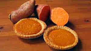 "The secret to the sweet potato pies Matthew Raiford's Nana makes is their size. ""When you eat sweet potato pie, you're supposed to have just enough,"" Raiford recalls his Nana saying."