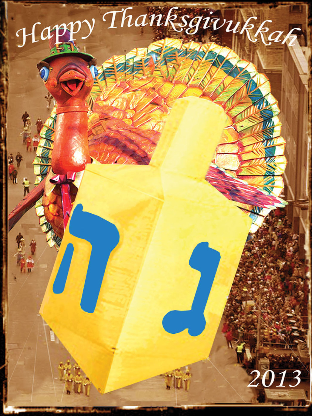Thanksgivukkah -- it's the best of both worlds.