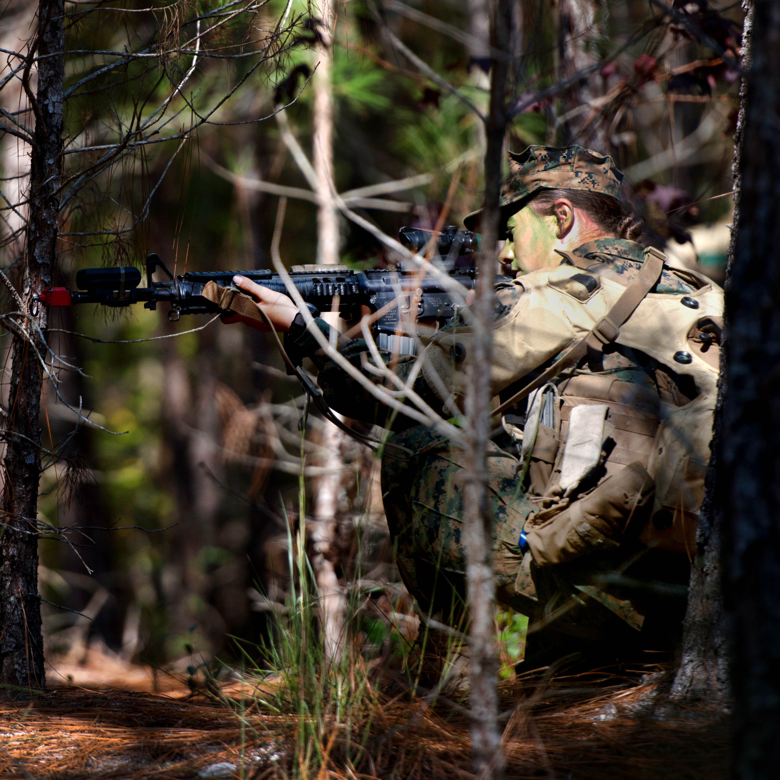 Delta Company is the first infantry training company to fully integrate female Marines into an entire training cycle.