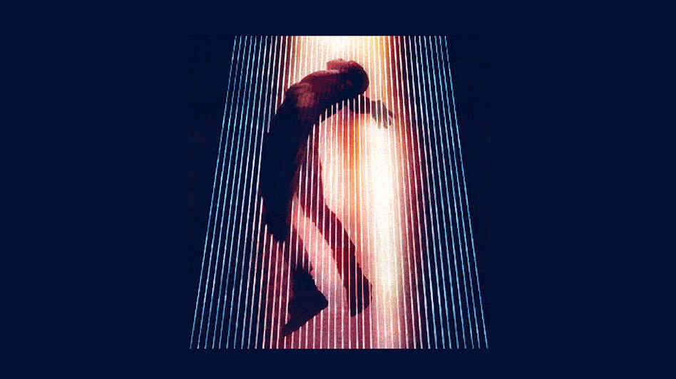 Detail from the poster for the Yeezus tour.