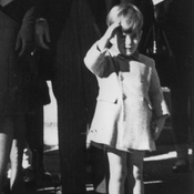 During JFK's funeral, live TV coverage helped make John-John Kennedy's salute an indelible image of American history.