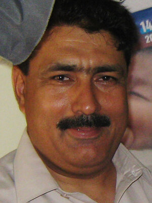 Pakistani doctor Shakil Afridi, in 2010, who has faced legal troubles since he took DNA samples that helped prove Osama