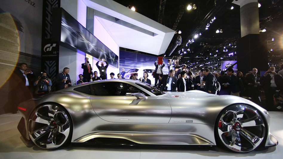 To TestDrive A Concept Car Fire Up The PlayStation WBUR News - Car show in los angeles this weekend