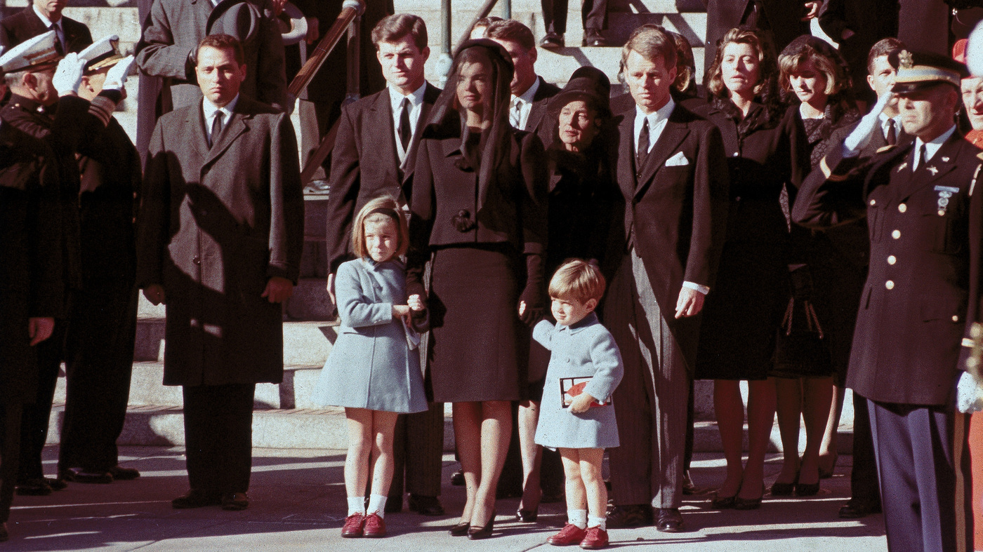 After Kennedy S Death Wife Jacqueline Embodied Grace Npr